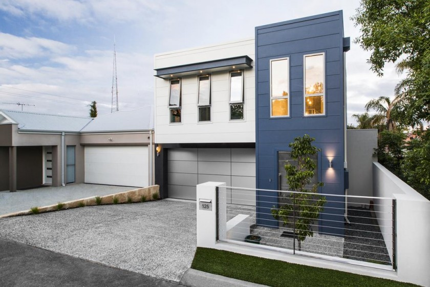 Stylish Contemporary And Clean Lined This Eye Catching Osborne Park Home Impresses At First Sight Even More So Since It Was Built In Just Six Months