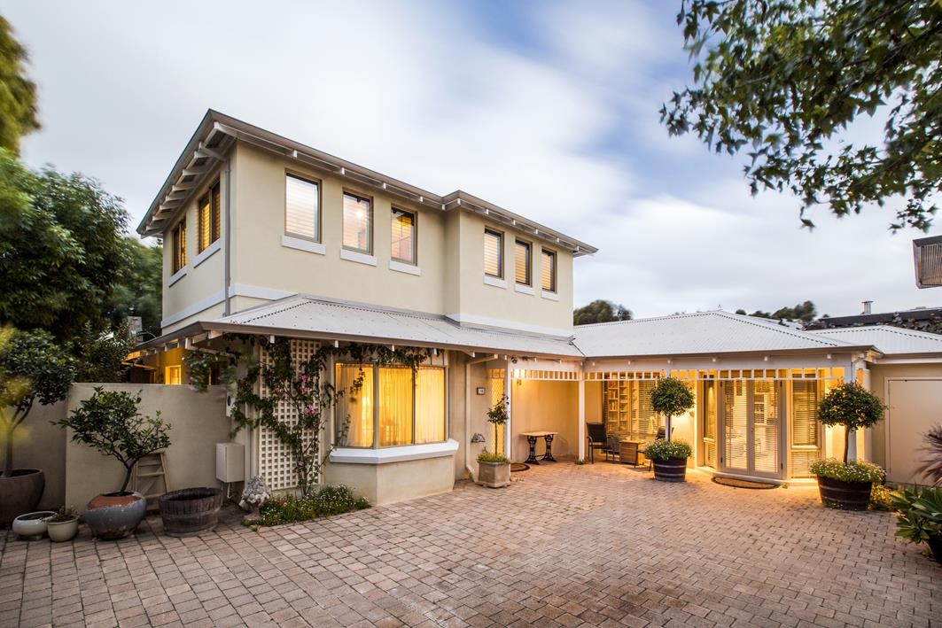 Swanbourne modular second storey extension nexus homes perth for Modular bedroom addition