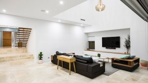 luxury living area perth