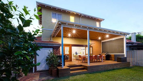 Modular second storey addition Perth