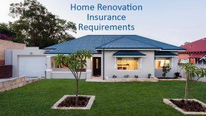 home renovation insurance Perth