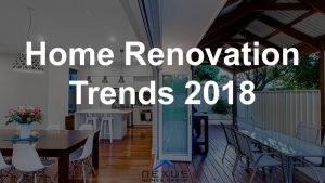 perth home renovation trends 2018