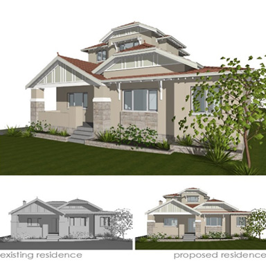 home addition design concept perth