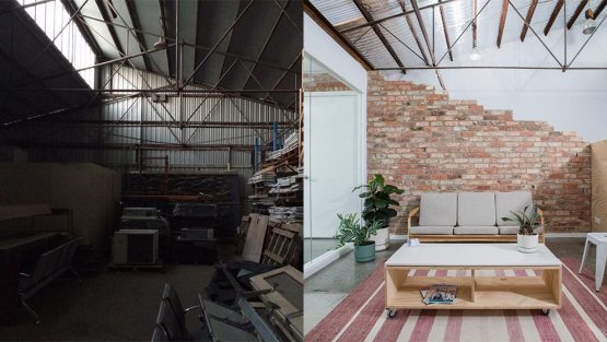 Nexus Home Improvements Office Renovation Before and After