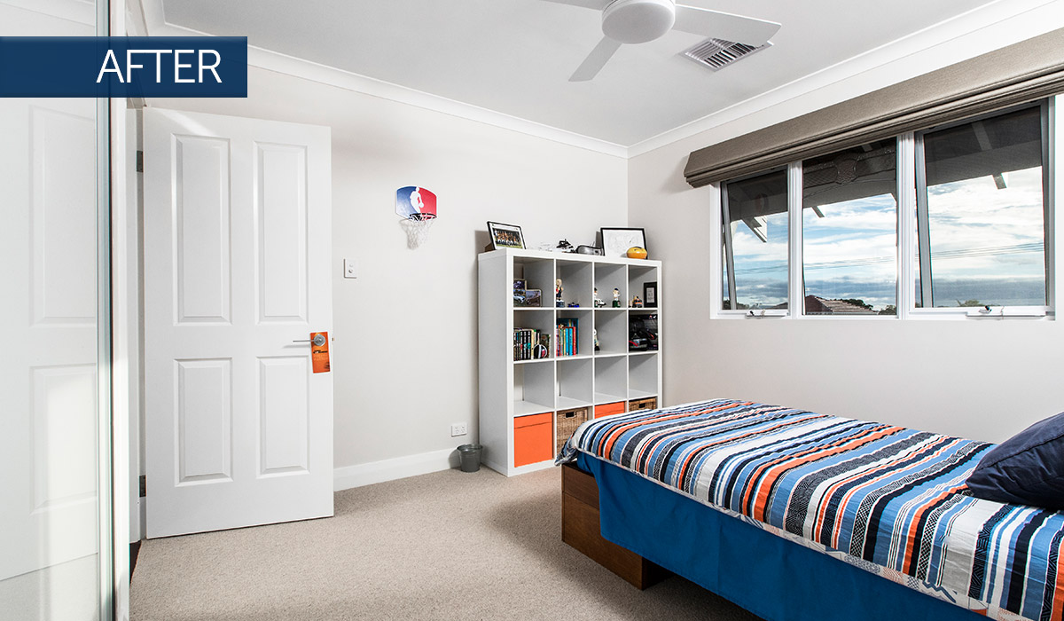 mount hawthorn modular second storey addition bedroom