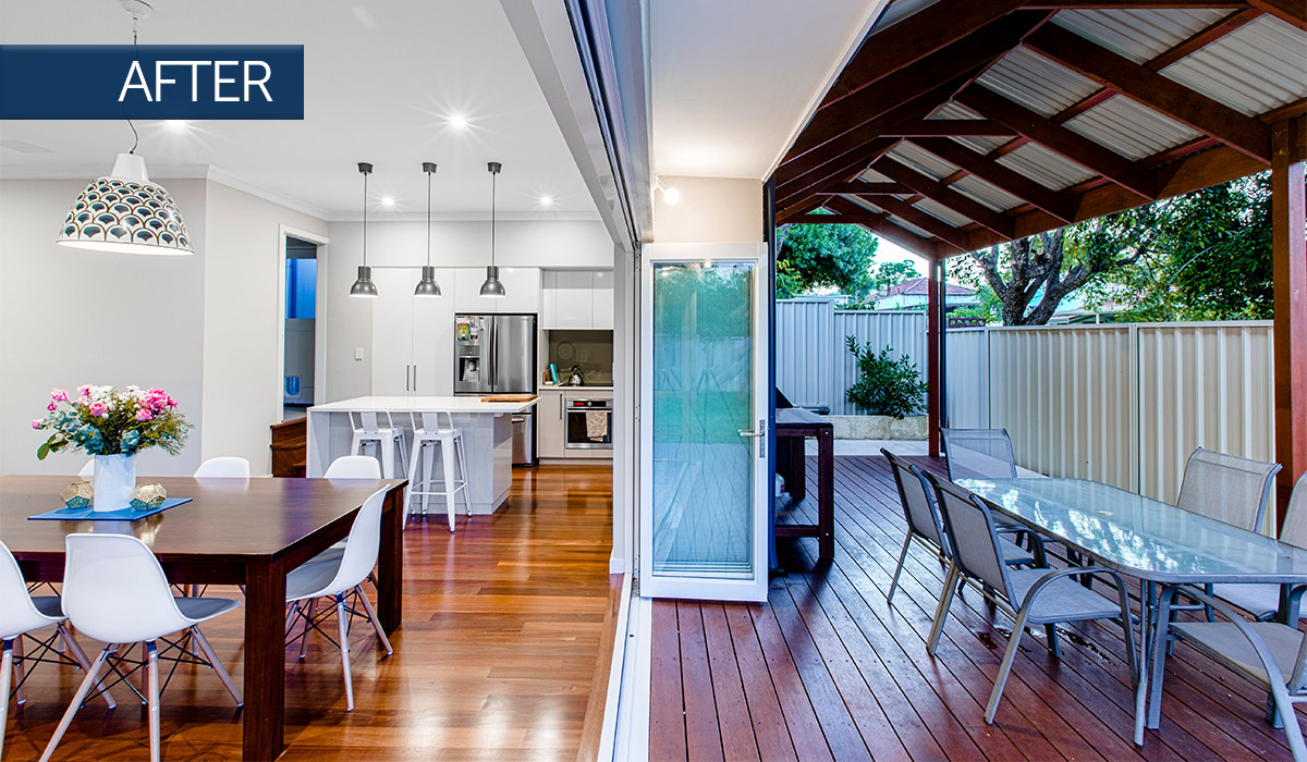 bayswater home renovation outdoor after