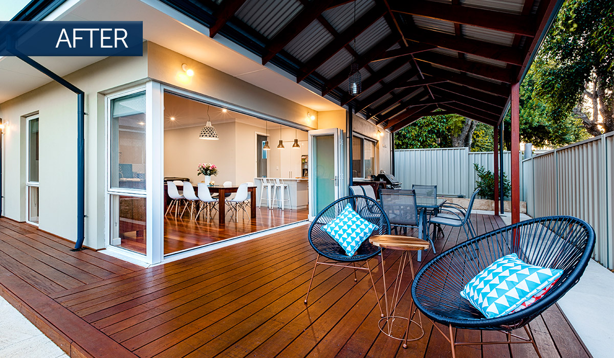 bayswater home renovation alfresco after