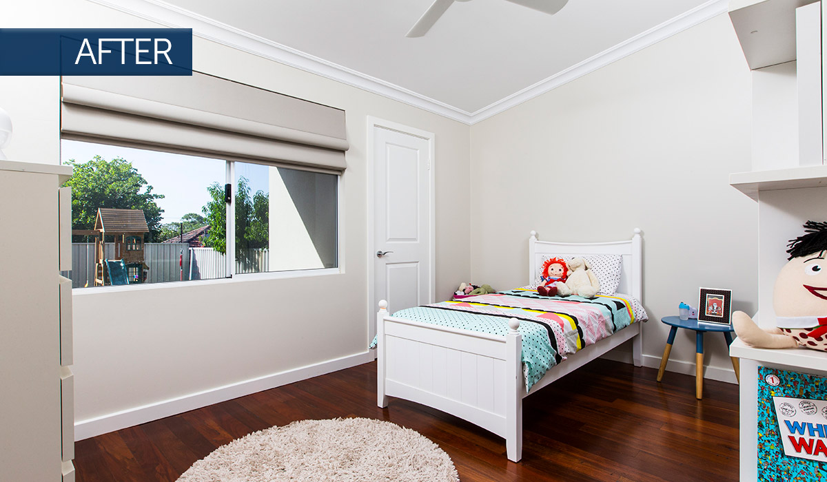 bayswater home renovation bedroom after