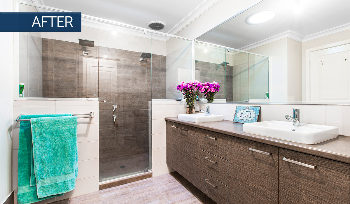 bayswater home renovation bathroom after