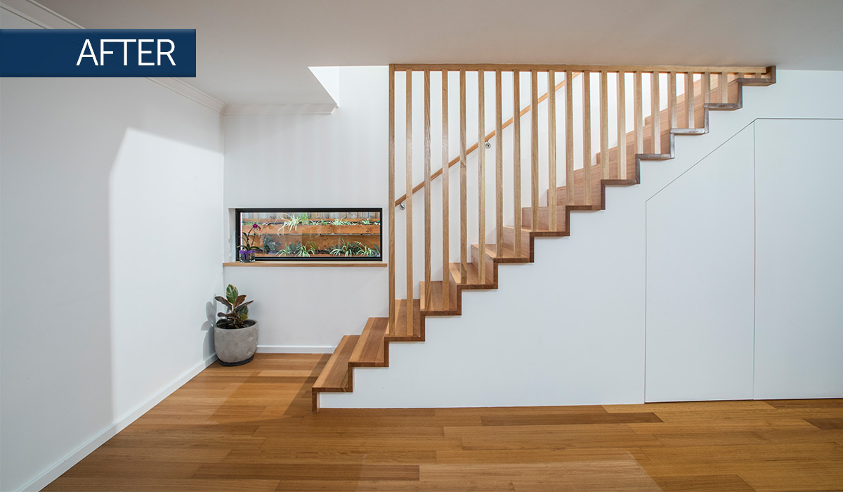 beaconsfield modular addition staircase after