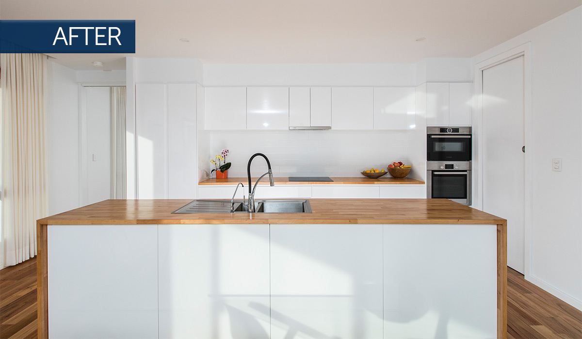 beaconsfield modular addition kitchen after