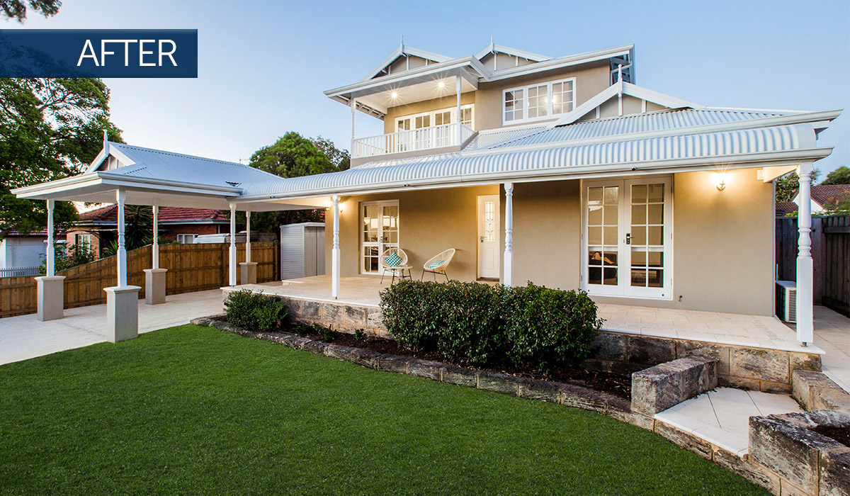 bicton second storey addition and home renovation after