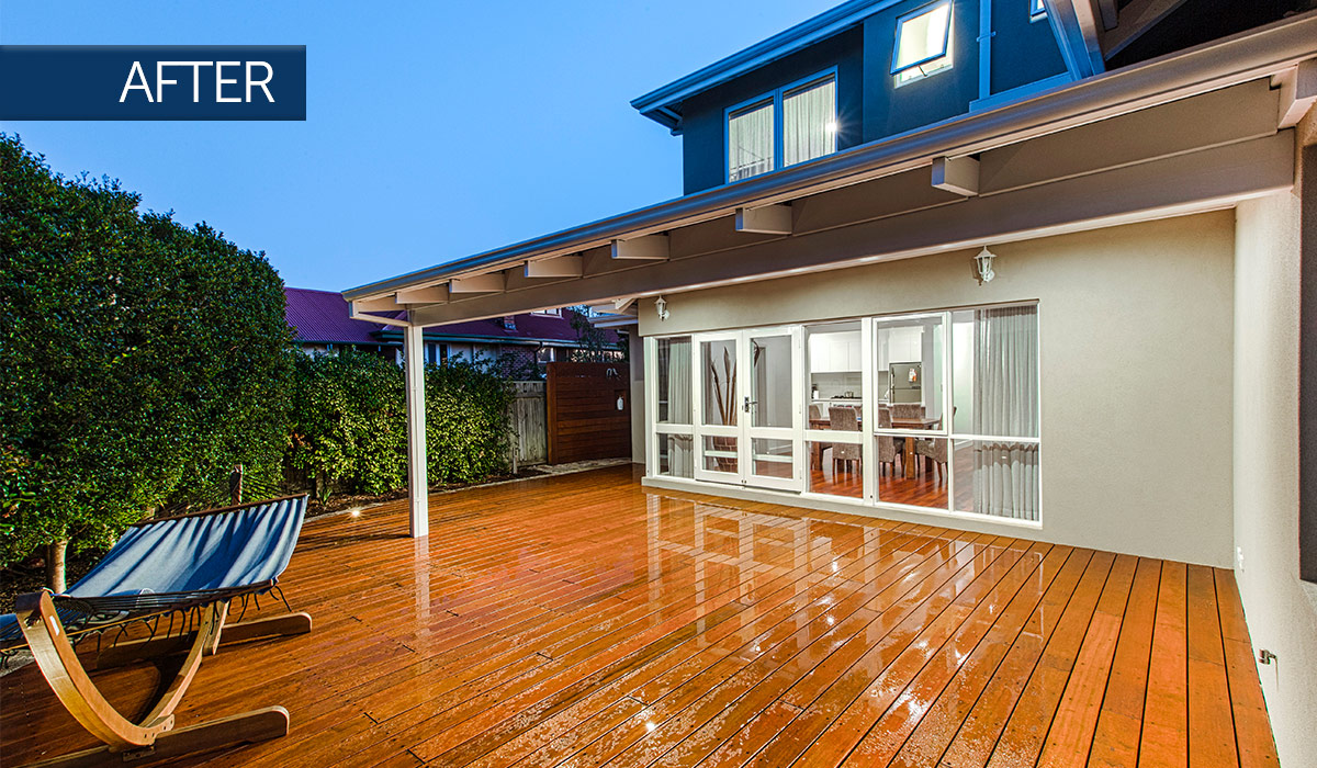 bicton second storey addition alfresco after