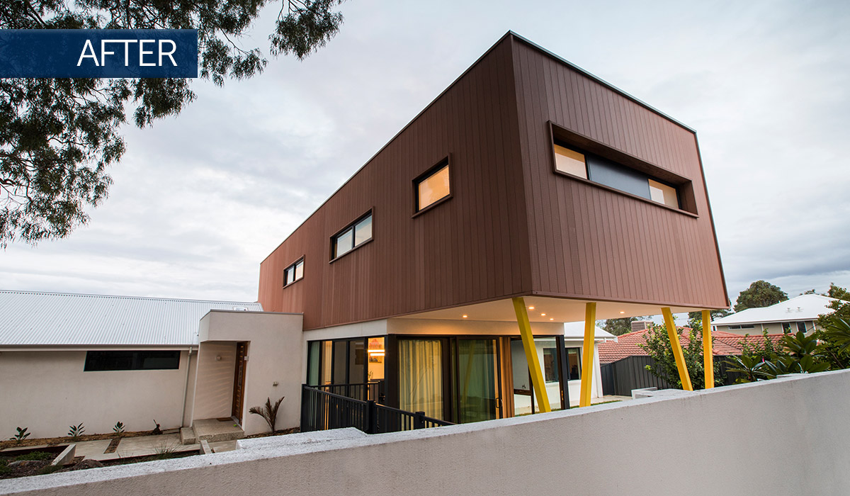 como modular extension and home renovation after