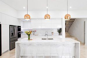 kitchen renovation using functional and stylish pendant lighting