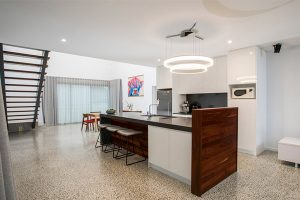 kitchen renovation statement lighting
