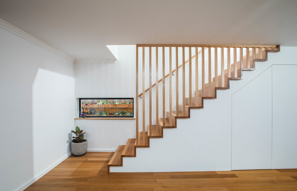 Stairs for second storey addition in Perth